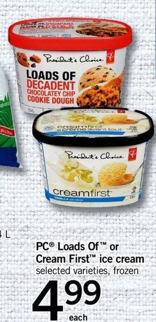 PC Loads Of Or Cream First Ice Cream