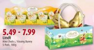 Lindt Mini Chicks / Kissing Bunny 5 Pack - 100g