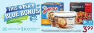 Nestlé Premium Frozen Dessert or Real Dairy Ice Cream 1.5 L - Drumstick or Selected Premium Novelties 4-12 Pk or Stouffer's Fit Bowls 340 g - 95 Air Miles Bonus Miles