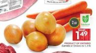 Carrots or Onions No 1 - 2 Lb