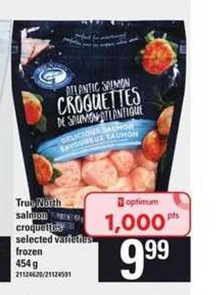 True North Salmon Croquettes - 454 g