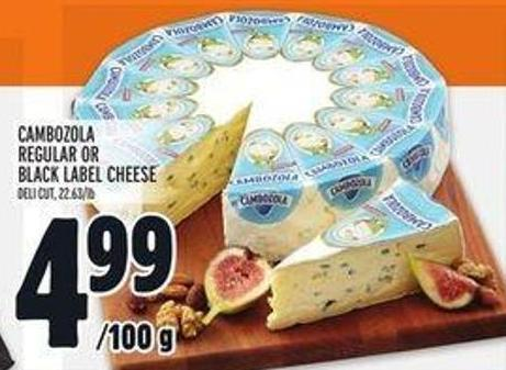 Cambozola Regular Or Black Label Cheese