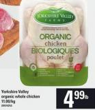Yorkshire Valley Organic Whole Chicken