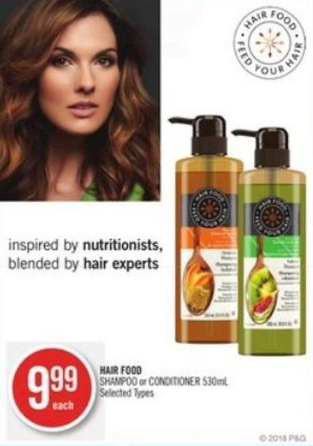 Hair Food Shampoo or Conditioner