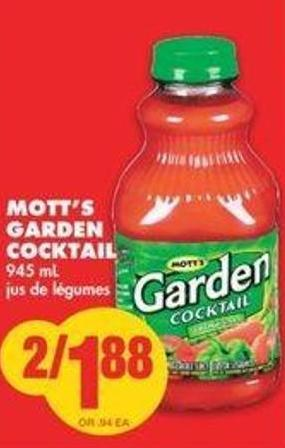 Mott's Garden Cocktail - 945 Ml