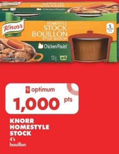 Knorr Homestyle Stock - 4's