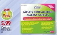 Option+ Allergy 25mg 12