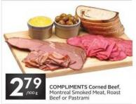 Compliments Corned Beef