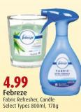 Febreze Fabric Refresher - Candle
