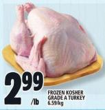 Frozen Kosher Grade A Turkey
