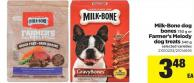 Milk-bone Dog Bones - 750 g Or Farmer's Melody Dog Treats - 340 g