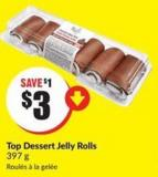 Top Dessert Jelly Rolls 397 g