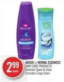 Aussie or Herbal Essences Hair Care Products