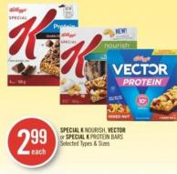 Special K Nourish - Vector or Special K Protein Bars