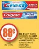 Oral-b Cavity Defense Toothbrush (1's) Colgate Maxfresh (52ml) Toothpaste