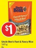 Uncle Ben's Fast & Fancy Rice