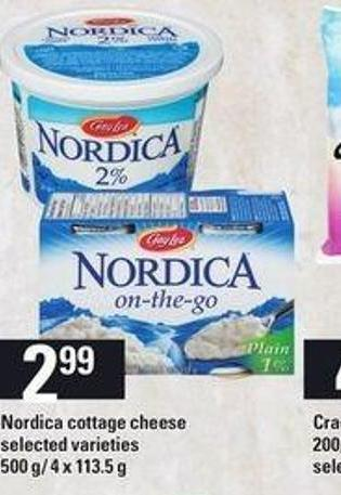 Nordica Cottage Cheese - 500 G/ 4 X 113.5 g