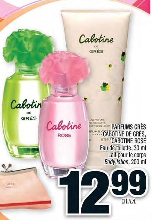 parfums gr s cabotine de gr s on sale. Black Bedroom Furniture Sets. Home Design Ideas
