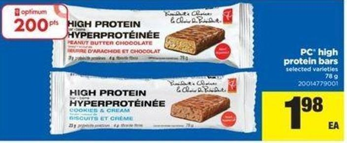 PC High Protein Bars - 78 G