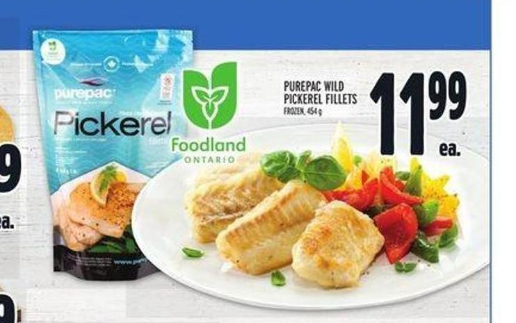 Purepac Wild Pickerel Fillets