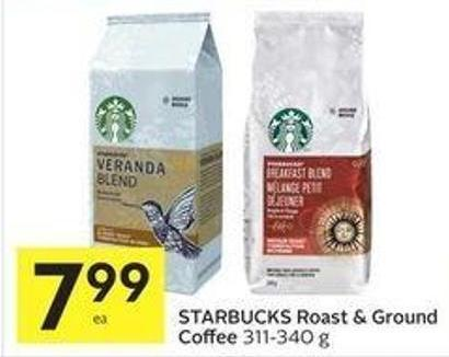 Starbucks Roast & Ground Coffee