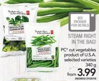 PC Cut Vegetables - 340 G