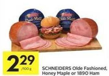 Schneiders Olde Fashioned - Honey Maple Or 1890 Ham