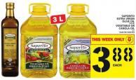 Saporito Extra Virgin Olive Oil Or Vegetable Or Canola Oil