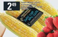 Farmer's Market Corn 4's Or Strawberries 454 g