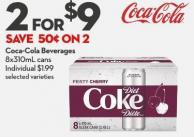 Coca-cola Beverages 8x310ml Cans