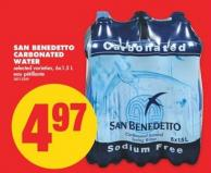 San Benedetto Carbonated Water - 6x1.5 L
