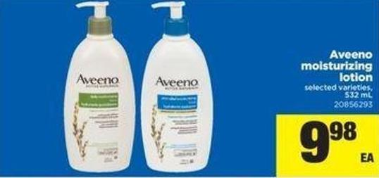 Aveeno Moisturizing Lotion - 532 Ml
