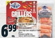 High Liner Iqf Fillets 400 G Or Grillers 240 G Frozen