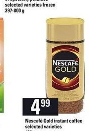 Nescafé Gold Instant Coffee 100 G