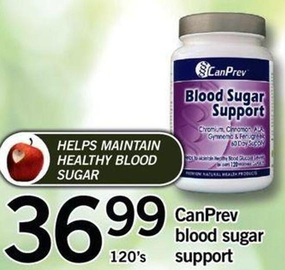Canprev Blood Sugar - 120's