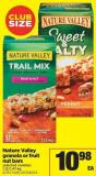 Nature Valley Granola Or Fruit Nut Bars - 1.12/1.47 Kg