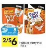 Friskies Party Mix - 8 Air Miles Bonus Miles