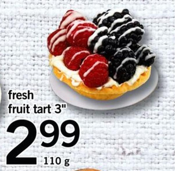 Fresh Fruit Tart 3in -