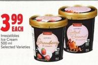 Irresistibles Ice Cream 500 ml