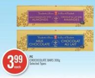 PC Chococolate Bars 300 g