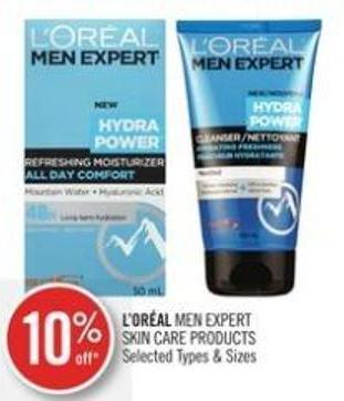 L'or�al Men Expert Skin Care Products