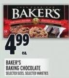 Baker's Baking Chocolate