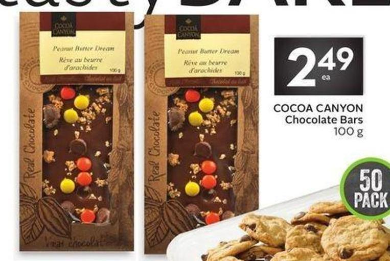 Cocoa Canyon Chocolate Bars