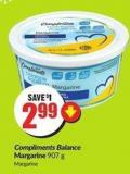 Compliments Balance Margarine 907 g