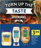 Hellmann's Mayonnaise 445 mL - Tartar Sauce 340 mL or Sauces 325 mL