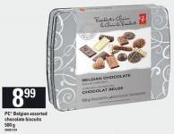PC Belgian Assorted Chocolate Biscuits - 500 g