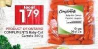 Compliments Baby-cut Carrots 340 g