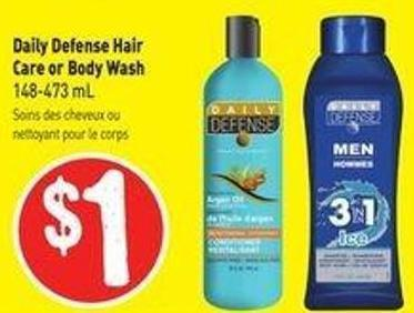 Daily Defense Hair Care or Body Wash 148-473 mL