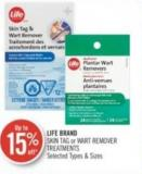 Life Brand Skin Tag or Wart Remover Treatments