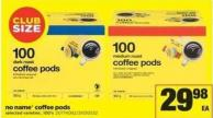 No Name Coffee PODS - 100's